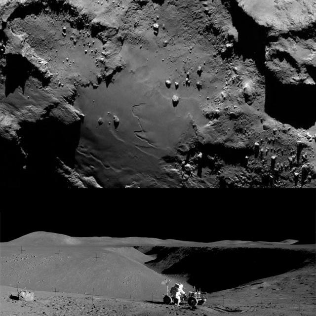 Rosetta : Mission autour de la comète 67P/Churyumov-Gerasimenko  Chumy110