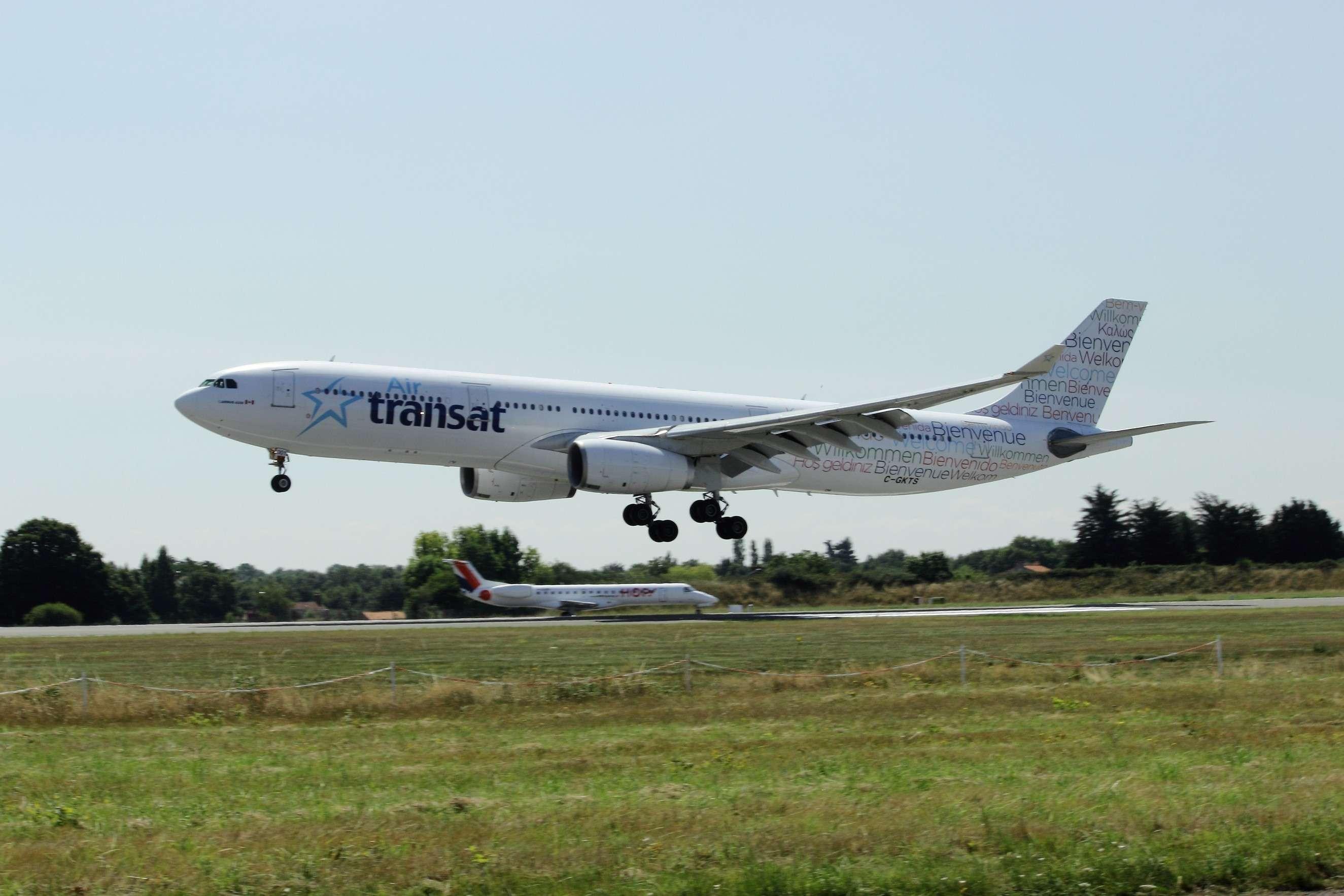 [08/07/2014] Airbus A330-300 (C-GKTS) Air Transat Nantes29