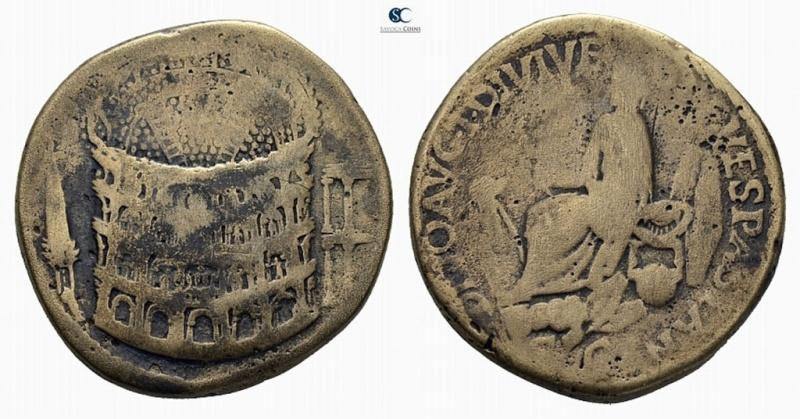 Sesterce de Titus (Colisée) Faux_s10