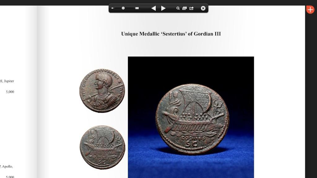 Roma Numismatics Auction VIII : LOL ! Sester14