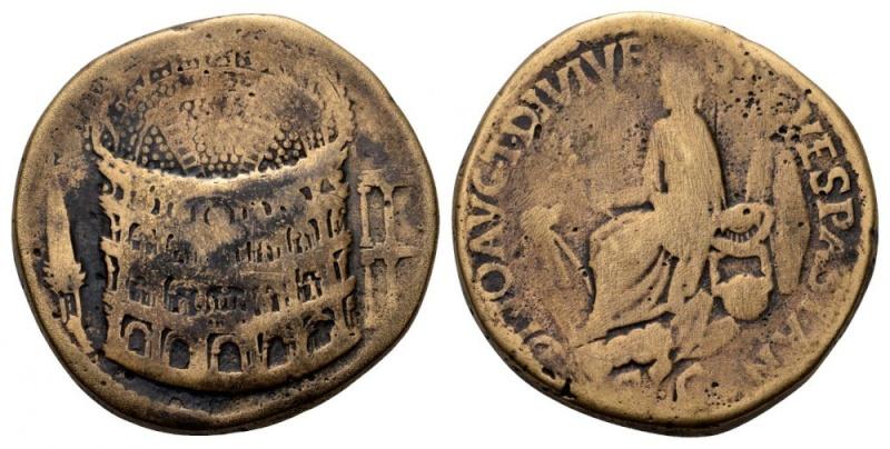 Sesterce de Titus (Colisée) Titus_10