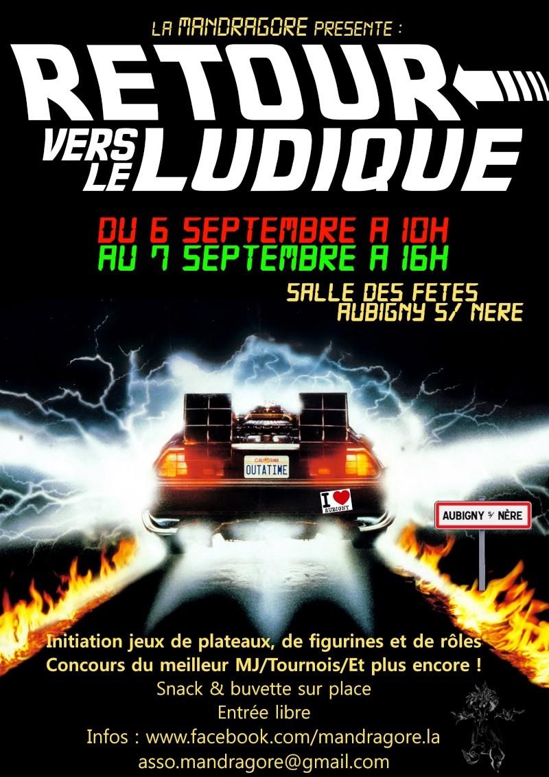 Retour vers le ludique. 6 et 7 septembre 2014 - Aubigny sur Nère (18700 Cher) Affich10