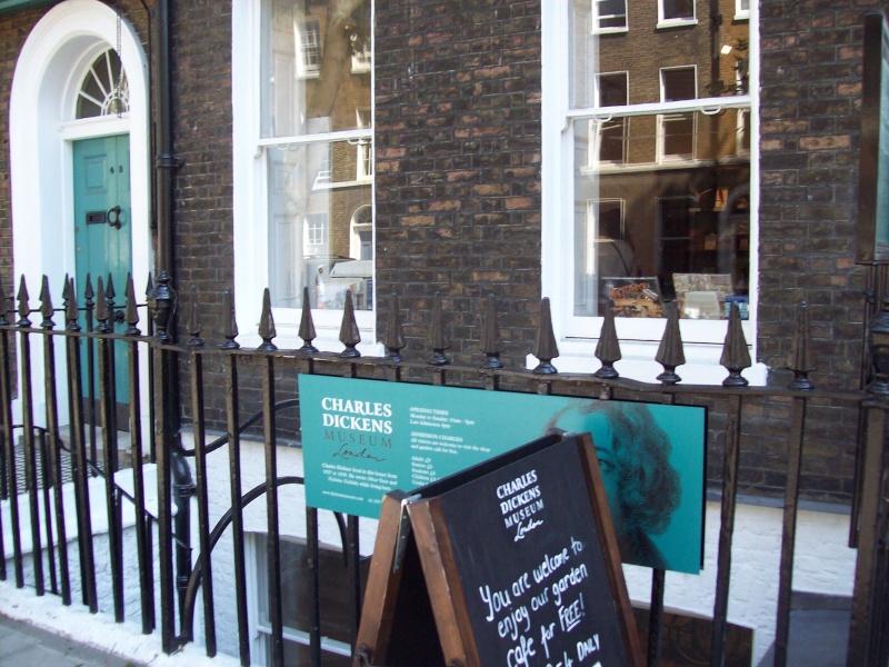 La maison de Charles Dickens à Londres. 100_1910