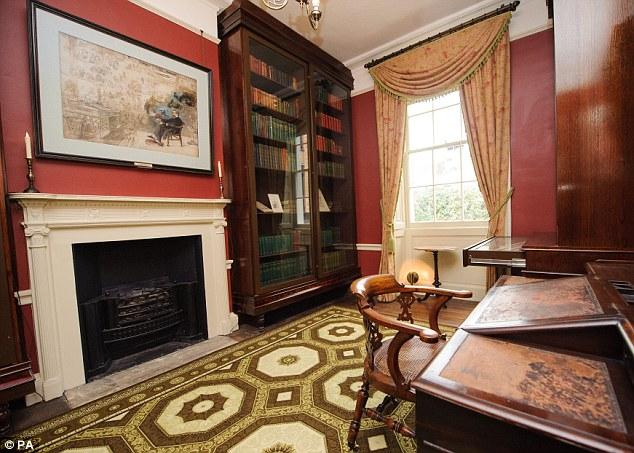 La maison de Charles Dickens à Londres. Articl10