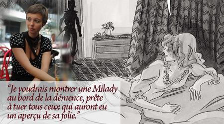 Milady de Winter, Agnès Maupré.   Milady10