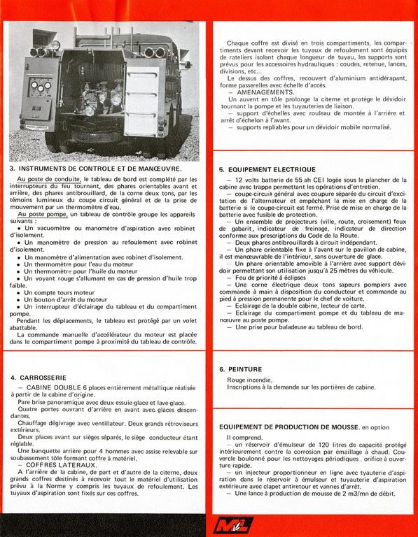 Les pompiers : MAHEU - LABROSSE B0244b10