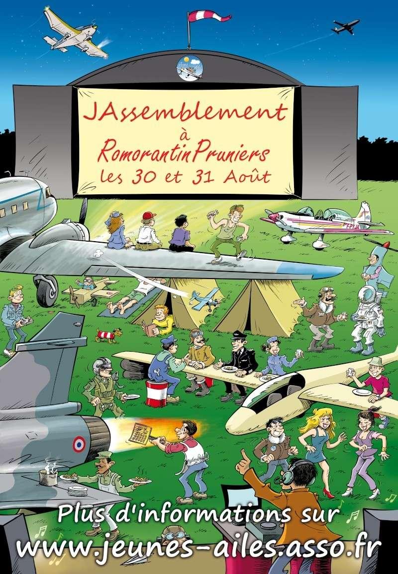 JASsemblement 2014 à Romorantin le 30 et 31 août Affich10