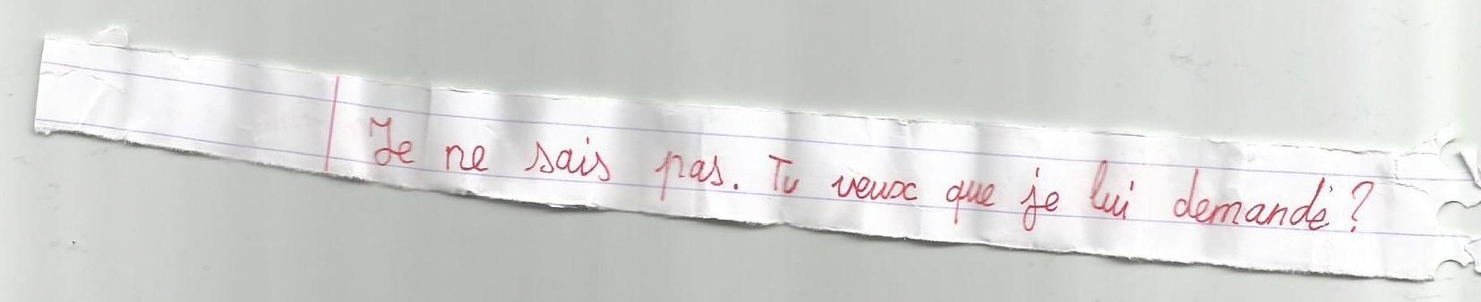 [Fan-art du VdF] Les petits mots en classe Billet11