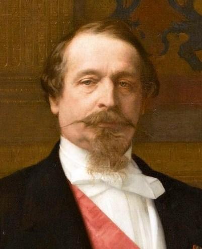 Napoléon III et Bismarck à Donchery (Peinture) par BONO (FINI) Napole10