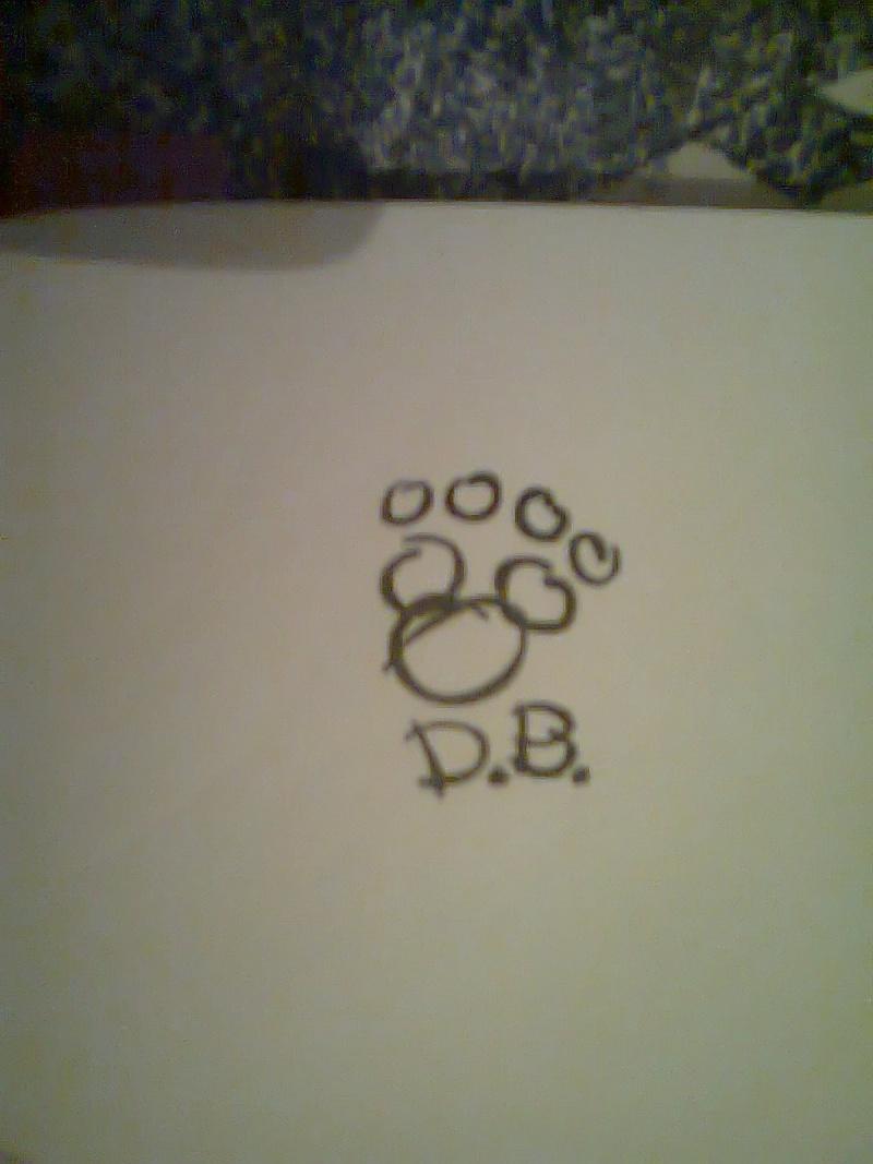 Autographes des personnages Disney. - Page 4 Photo011