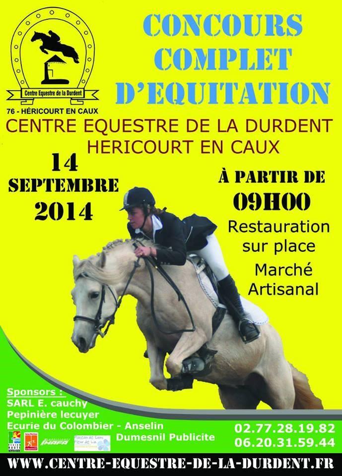 """14 Septembre 2014 - CCE au CE """"La Durdent"""" - Héricourt en caux. Affich11"""