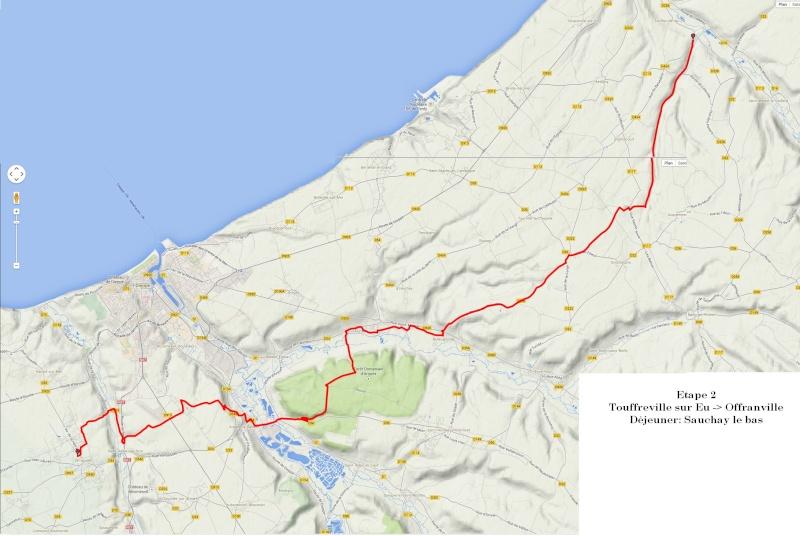 """13 au 17 juillet - Randonnée attelage """"Baie de Somme-> Baie de Seine !"""" Etape211"""