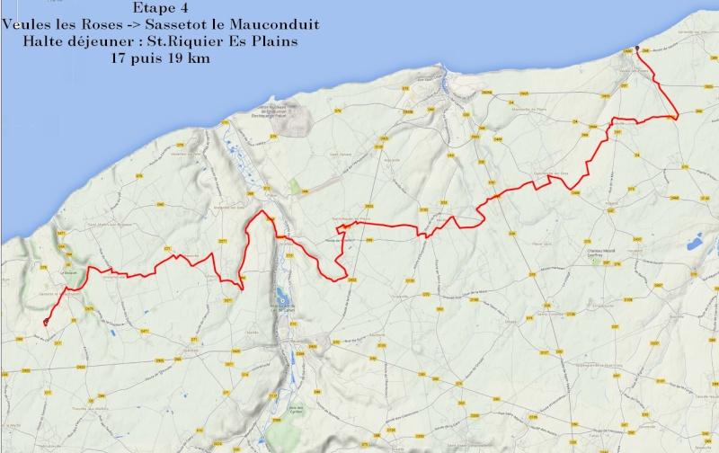 """13 au 17 juillet - Randonnée attelage """"Baie de Somme-> Baie de Seine !"""" - Page 2 Etape411"""