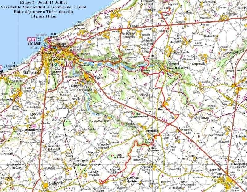 """13 au 17 juillet - Randonnée attelage """"Baie de Somme-> Baie de Seine !"""" - Page 2 Etape510"""
