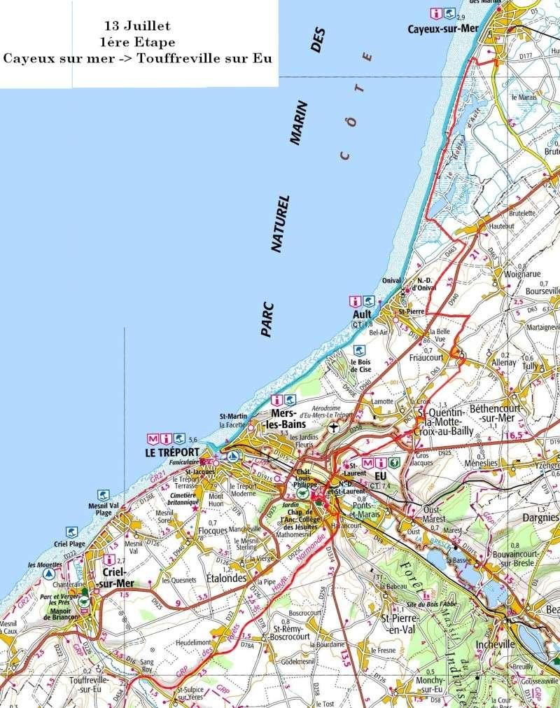 """13 au 17 juillet - Randonnée attelage """"Baie de Somme-> Baie de Seine !"""" Etape_10"""