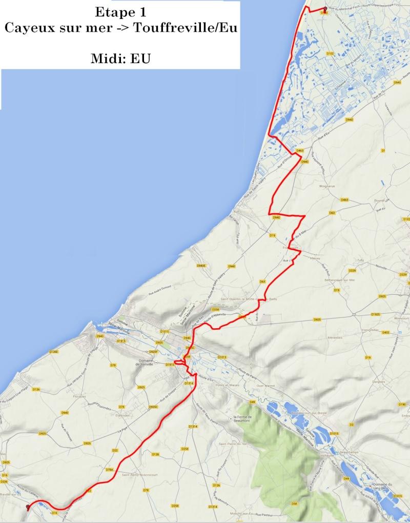 """13 au 17 juillet - Randonnée attelage """"Baie de Somme-> Baie de Seine !"""" Etape_11"""