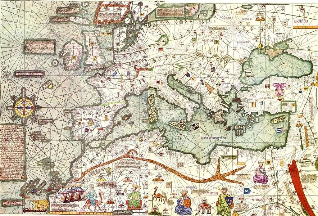 cartes et représentations du monde occidental Cat_at10