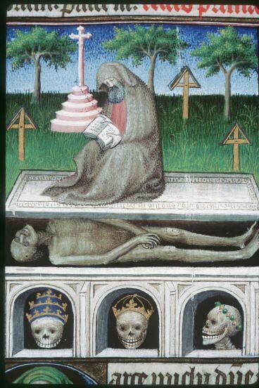 représentation d'un enterrement D2464010