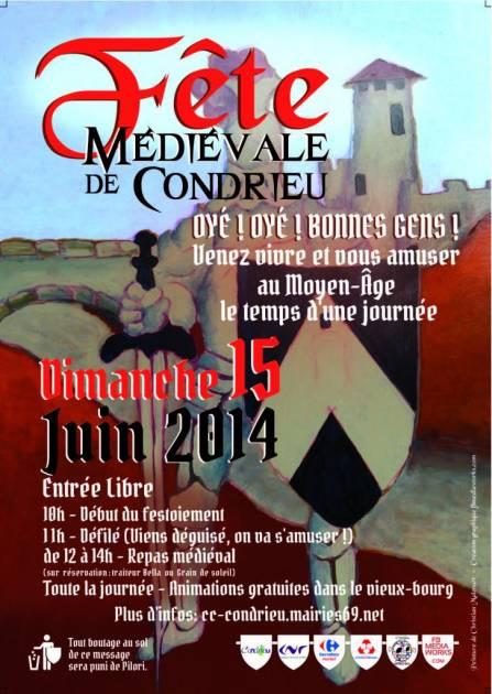 2014 juin dimanche 15 : fête médiévale de Condrieu (69) Fete-m10