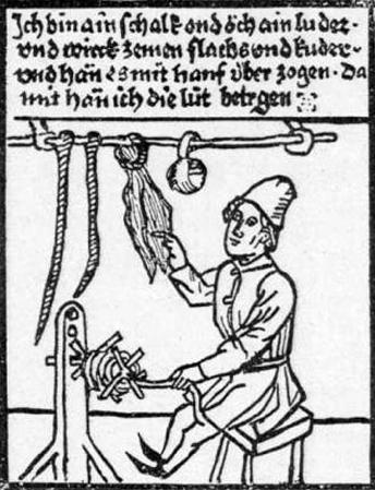 les cordes et les cordiers / ropes and rope maker German10
