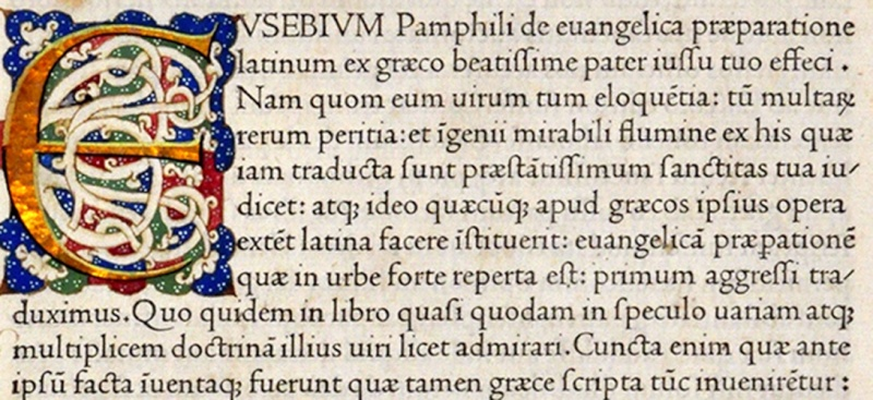 comment un imprimeur français du XVe siècle a inventé un des caractères les plus parfaits jamais créés Jenson10