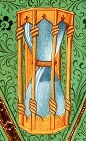 artefacts et représentation de sabliers / hour glass Sablie14
