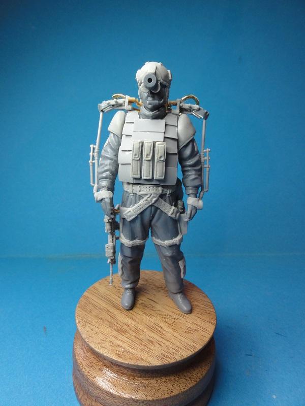 (denis simon) figurines de soldat du futur  F110