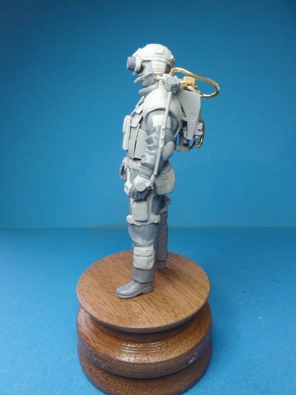 (denis simon) figurines de soldat du futur  F210