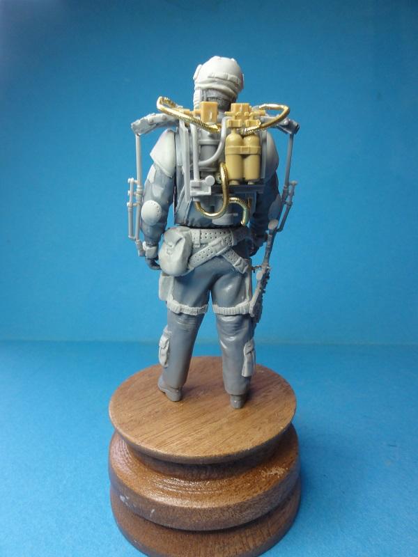 (denis simon) figurines de soldat du futur  F410