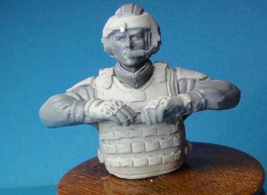 (denis simon) figurines de soldat du futur  F510