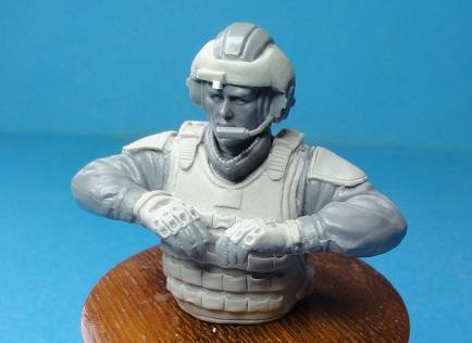 (denis simon) figurines de soldat du futur  F610