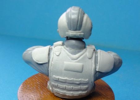 (denis simon) figurines de soldat du futur  F710