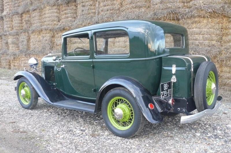 Malle Sphinx arrière pour Ford 1932 Tudor ou Fordor  G10