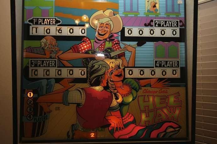 Flipper modèle Hee Haw de chez Chicago Coins de 1973 - VENDU Hee_ha13