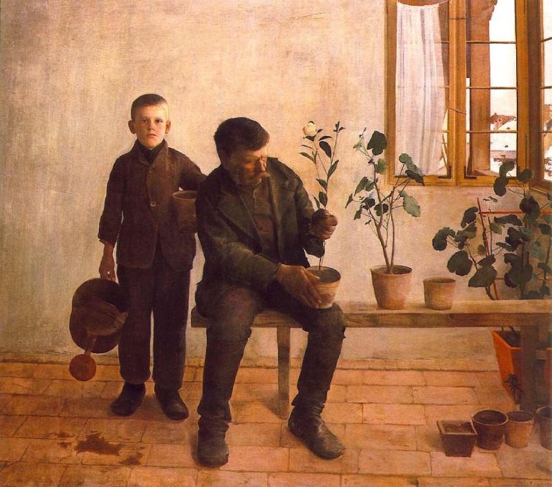 Petit, petit deviendra grand. L'enfance dans la peinture. 64788710