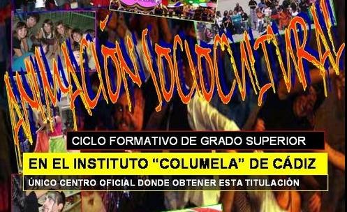 ANIMACIÓN SOCIOCULTURAL EN CÁDIZ - IES Columela