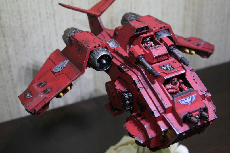 [CDA Armour] : Blood of Sanguinius : Stormraven Blood Angel Img_8810