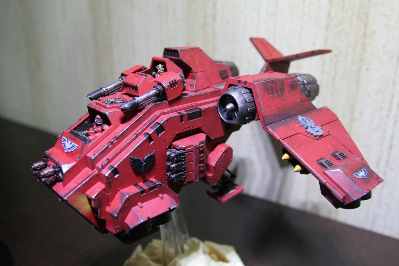 [CDA Armour] : Blood of Sanguinius : Stormraven Blood Angel Img_8811