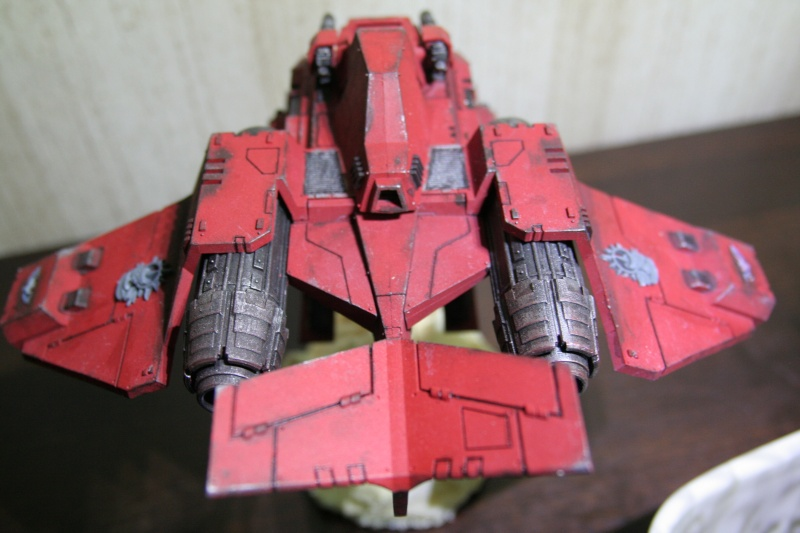 [CDA Armour] : Blood of Sanguinius : Stormraven Blood Angel Img_8812