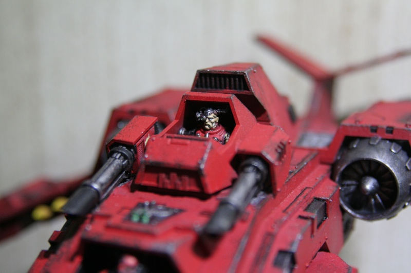 [CDA Armour] : Blood of Sanguinius : Stormraven Blood Angel Img_8813