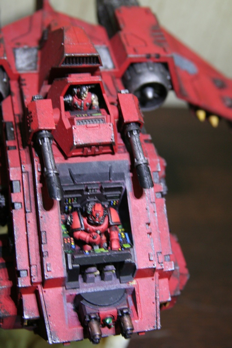 [CDA Armour] : Blood of Sanguinius : Stormraven Blood Angel Img_8815