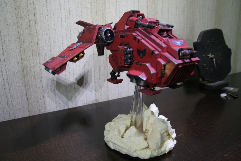 [CDA Armour] : Blood of Sanguinius : Stormraven Blood Angel Img_8816