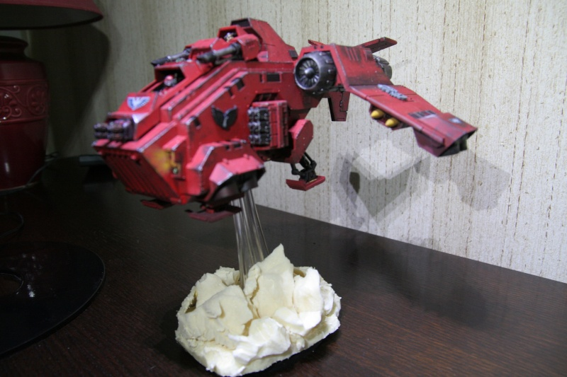 [CDA Armour] : Blood of Sanguinius : Stormraven Blood Angel Img_8817