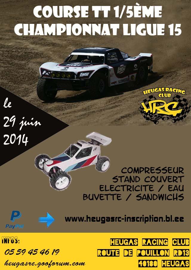 Course TT 1/5me le 29 Juin 2014 à HEUGAS Ligue 15 29juin10