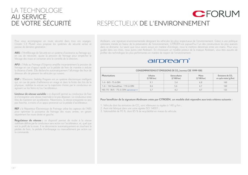 [Documentation] Brochures Citroën Catal284