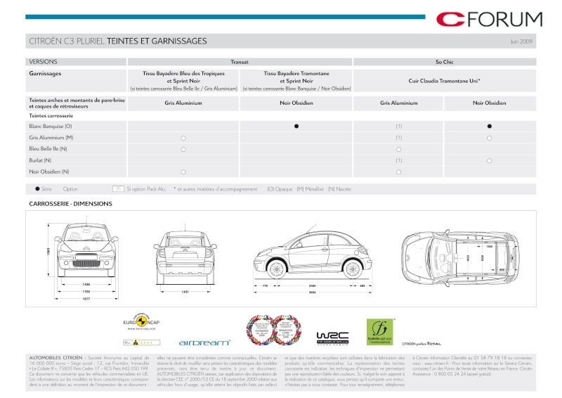[Documentation] Brochures Citroën Catal292