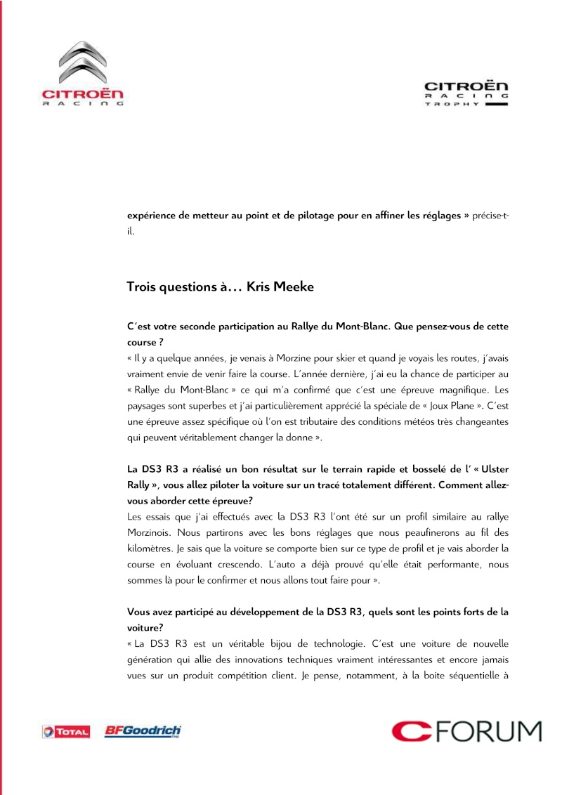 [OFFICIEL] Nouvelle DS3 R3 - Page 2 Crtds311