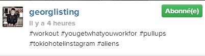 [Instagram Officiel] Instagram  Bill,Tom,Gus,Georg et TH - Page 3 Sans_108