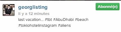 [Instagram Officiel] Instagram  Bill,Tom,Gus,Georg et TH - Page 3 Sans_119