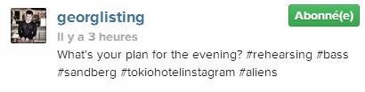 [Instagram Officiel] Instagram  Bill,Tom,Gus,Georg et TH - Page 3 Sans_140